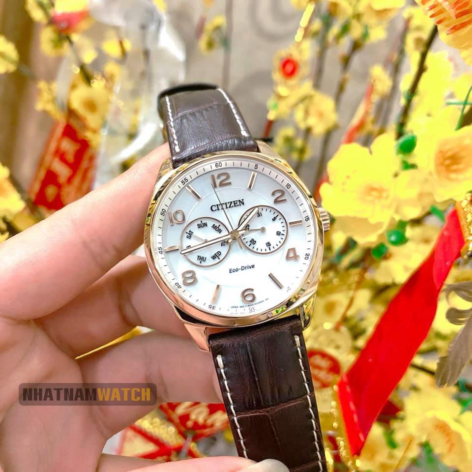 Đồng hồ Citizen AO9024-08A Eco-drive Gold