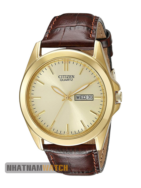 Đồng hồ Citizen BF0582-01P Leather