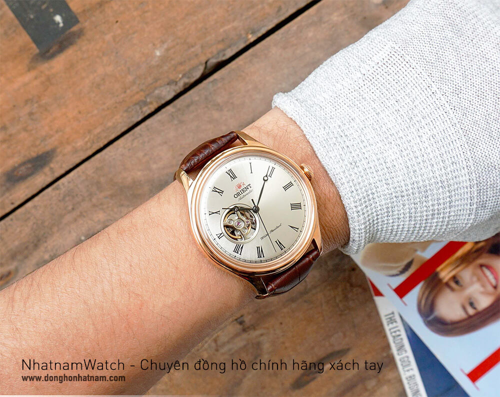 Đồng hồ Orient Caballero FAG00001S0 Rose Gold