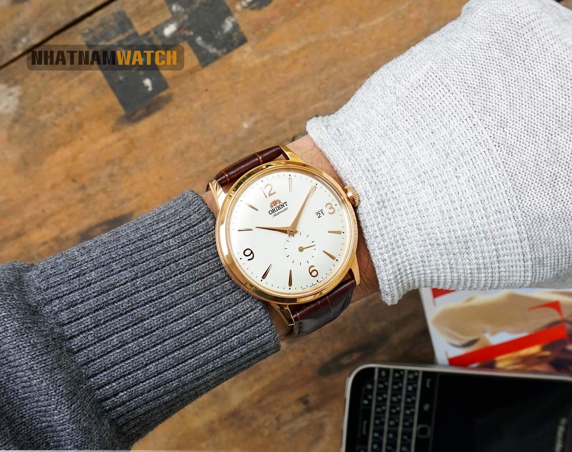 Orient Bambino RA-AP0001S10B Rose Gold