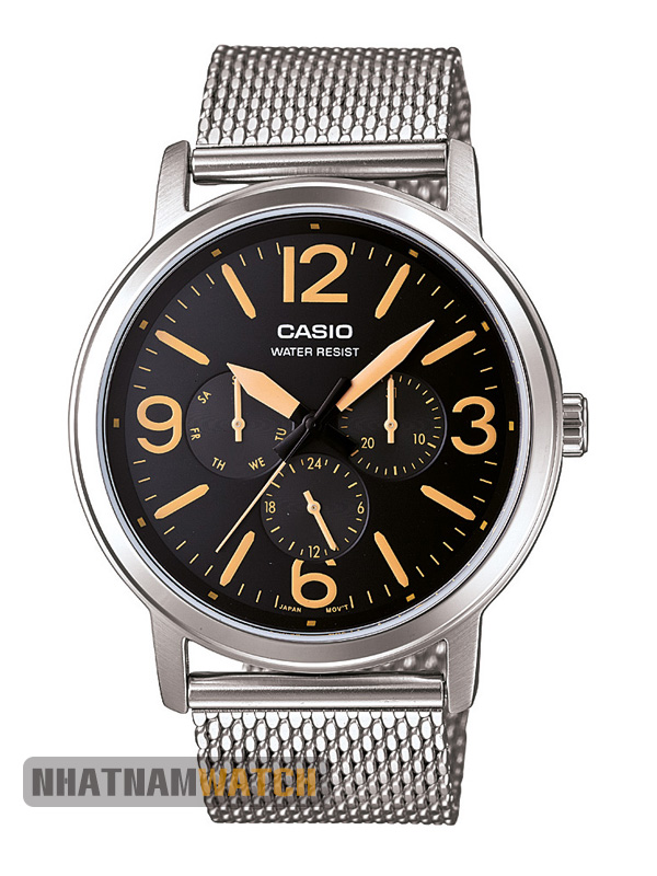 Casio MTP-1338D-9BUDF dây lưới