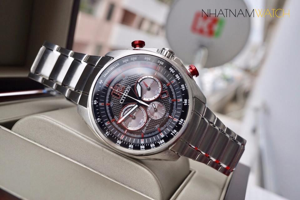 Đồng hồ Citizen CA4190-54E Eco-drive Steel