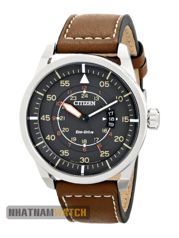 Citizen AW1361-10H Eco-drive Leather