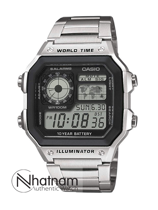Đồng hồ Casio-AE1200 Timeless Style Authentic