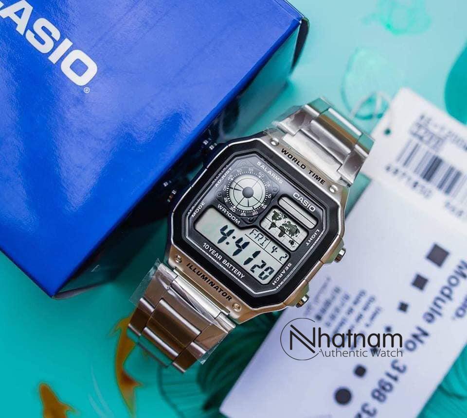 Đồng hồ Casio-AE1200 Authentic