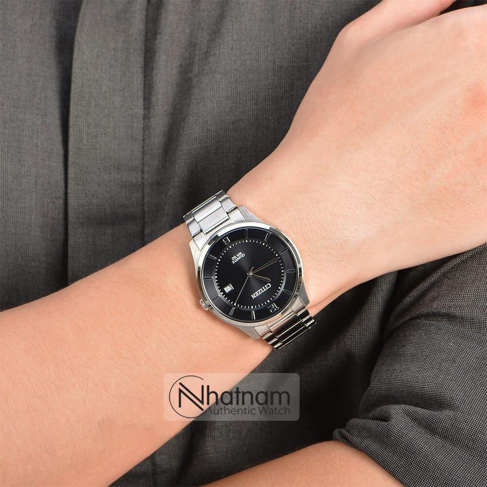 Đồng hồ Citizen BD0041-89E Quartz Steel