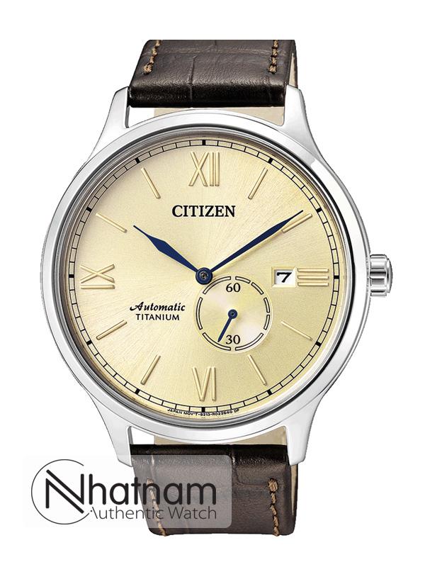 Citizen NJ0090-13P Titanium Automatic