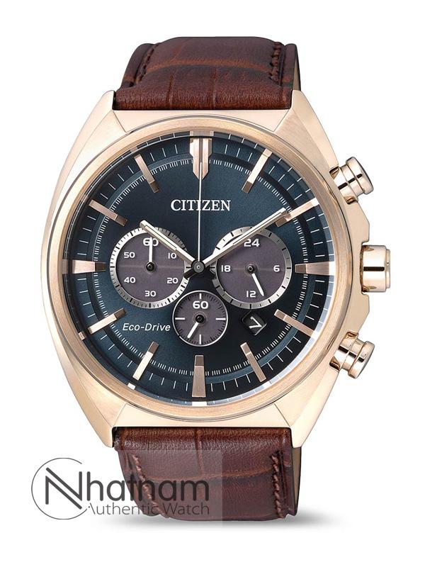 Citizen CA4283-04L Eco-drive Leather 45mm