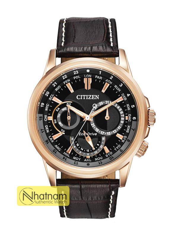 Citizen BU2023-12E Eco-drive Leather