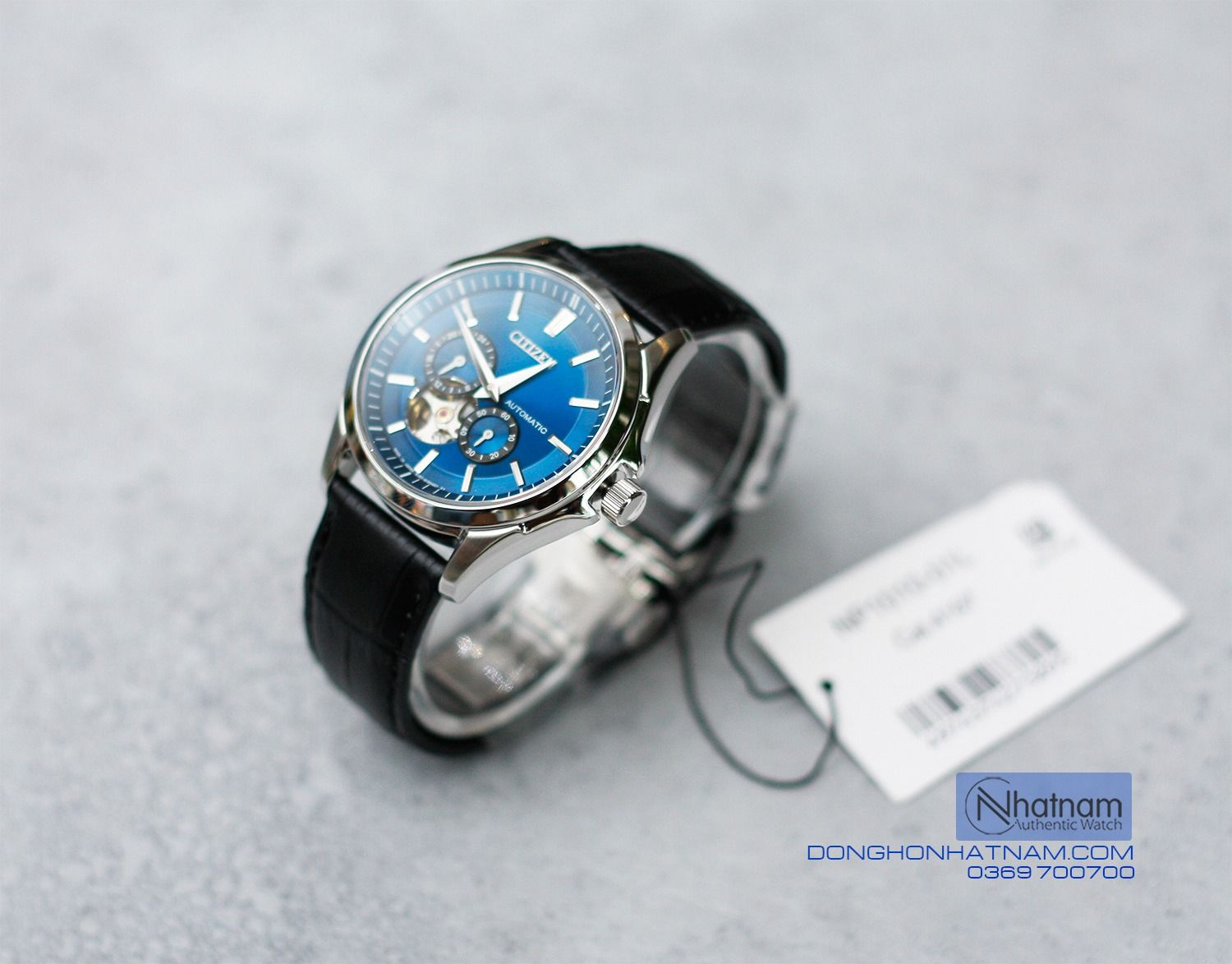 Citizen NP1010-01L Automatic Blue Leather