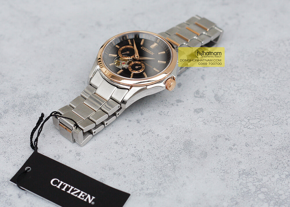 Citizen NP1014-51E Automatic Open Heart