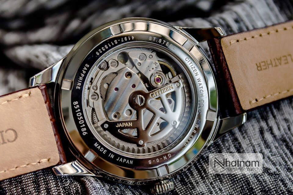 Citizen NP1020-15A Automatic Leather