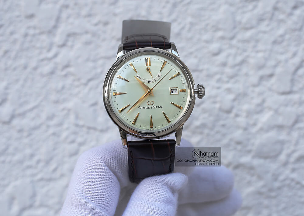 Orient Star SAF02005S0 automatic Leather