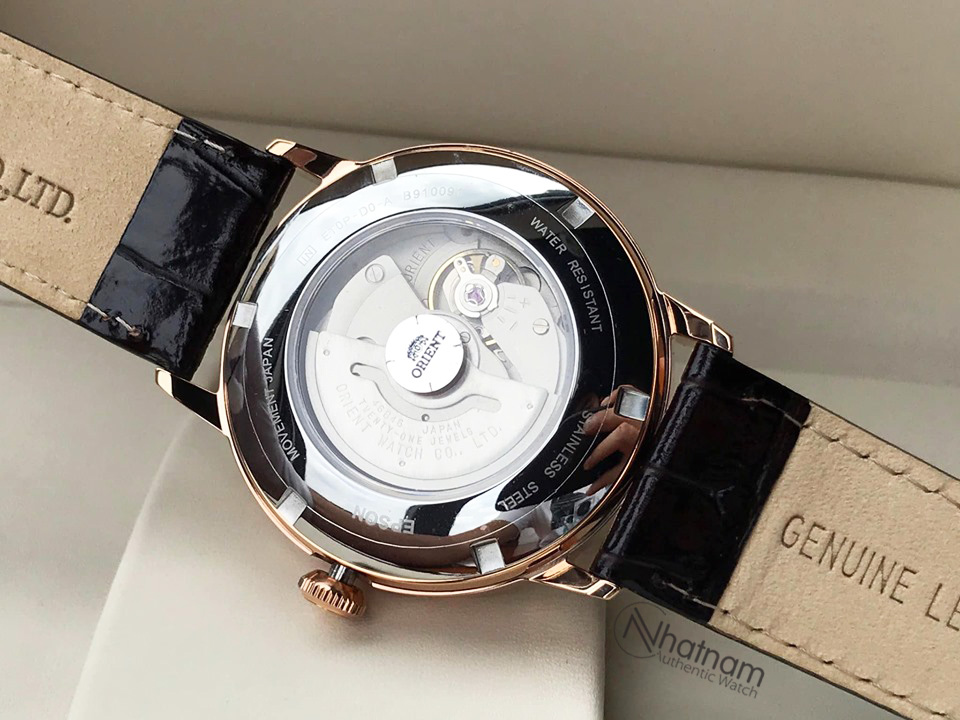 Orient FET0P001W0 Sun & Moon Leather