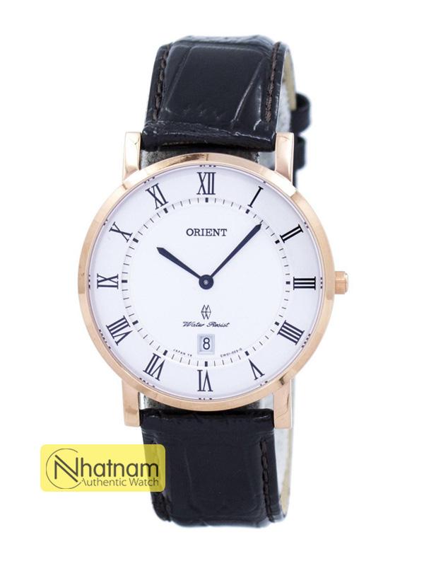 Orient SGW0100EW0 Quart Leather