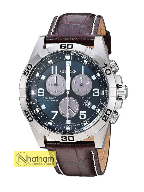 Citizen BL5551-06L Eco-drive Titanium Leather