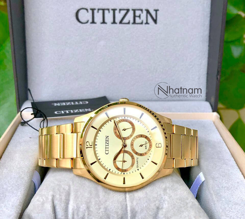 Citizen AG8353-81P Quart Tone Gold