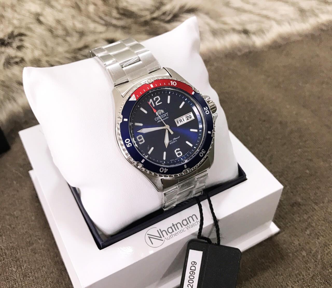 Orient FAA02009D9 Mako II Blue Pepsi