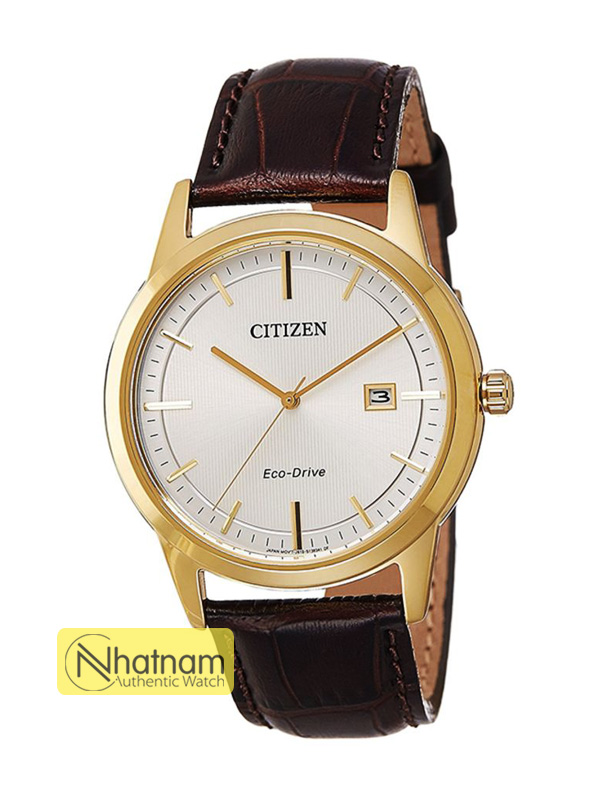 Citizen AW1233-01A Eco-drive Leather