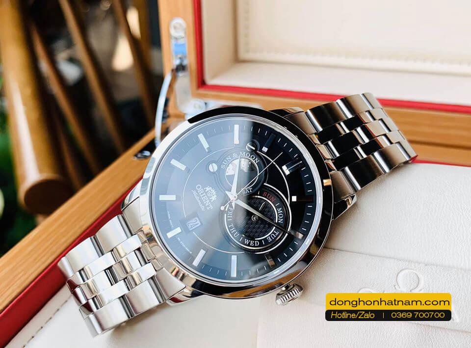 Orient FET0P002B0 Sun & Moon Steel