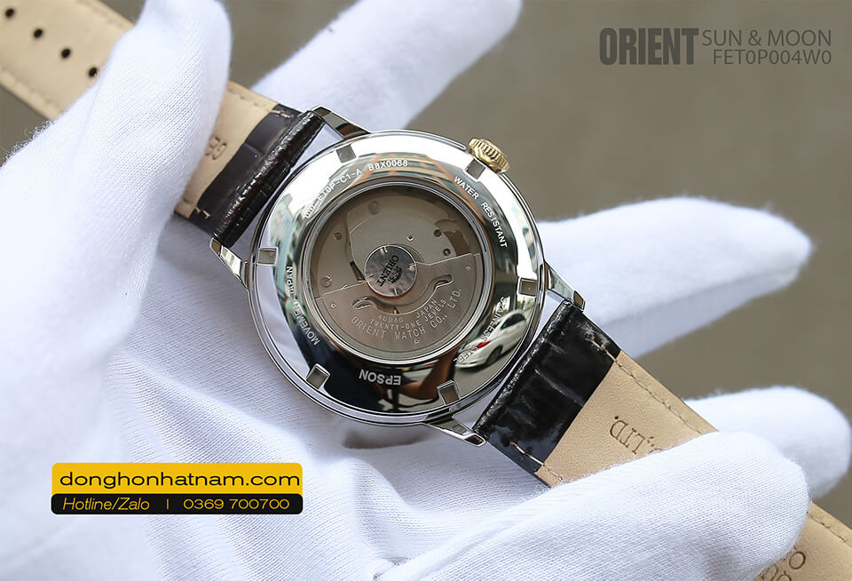Orient FET0P004W0 Sun & Moon Leather