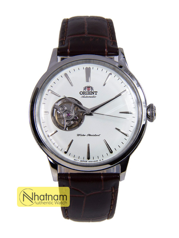 Orient RA-AG0002S00C Open Heart Leather