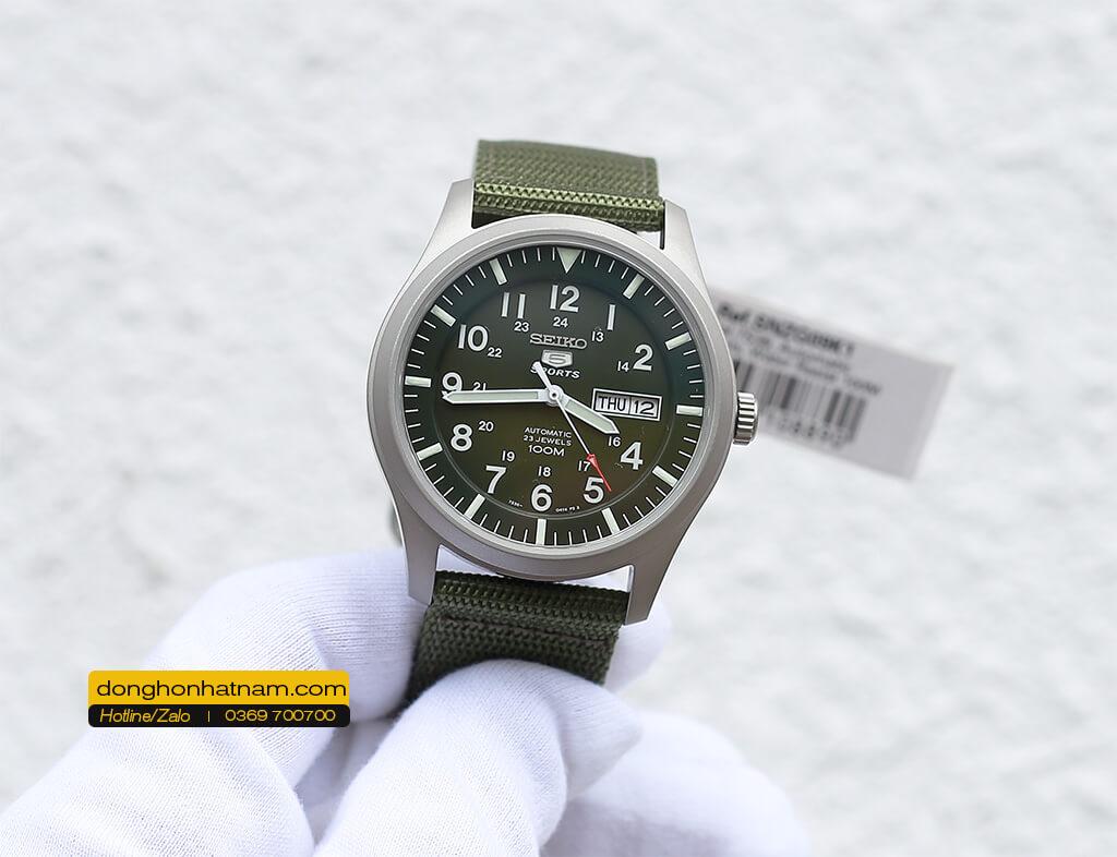 Seiko 5 Quân đội SNZG09K1 Automatic