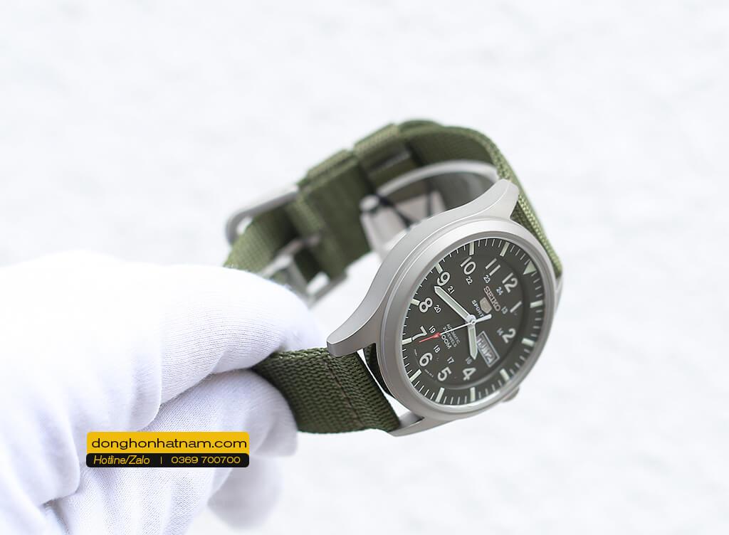 Seiko SNZG09K1 5 Quân đội Automatic