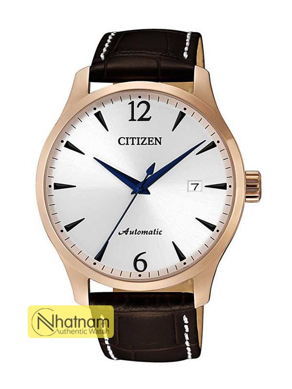 Citizen NJ0113-10A Automatic Leather