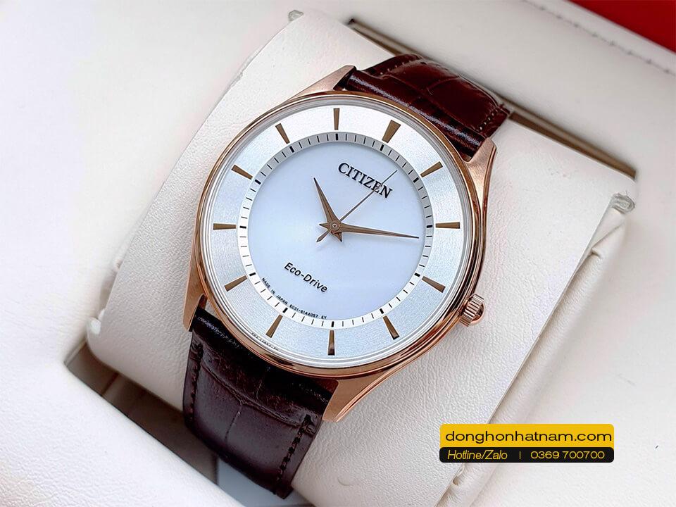 Citizen Eco-Drive BJ6482-04A Leather