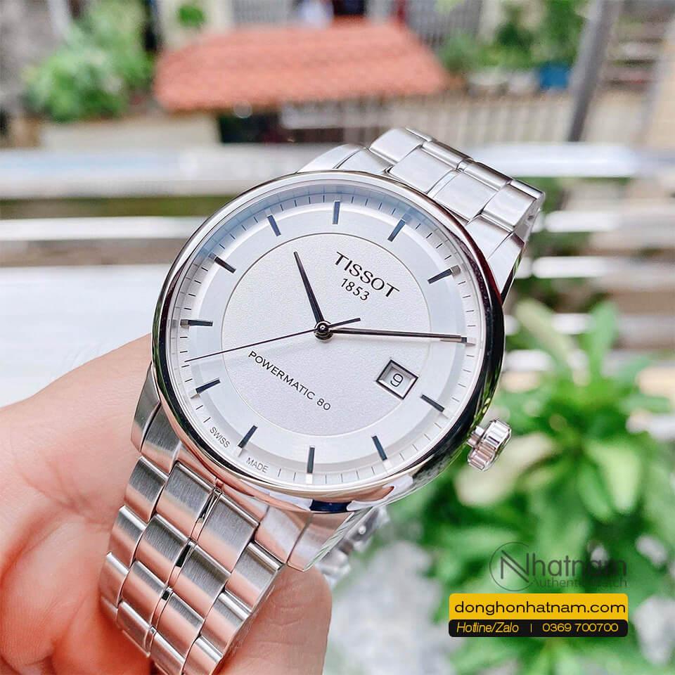 Tissot Powermatic 80 Mat Trang (1)
