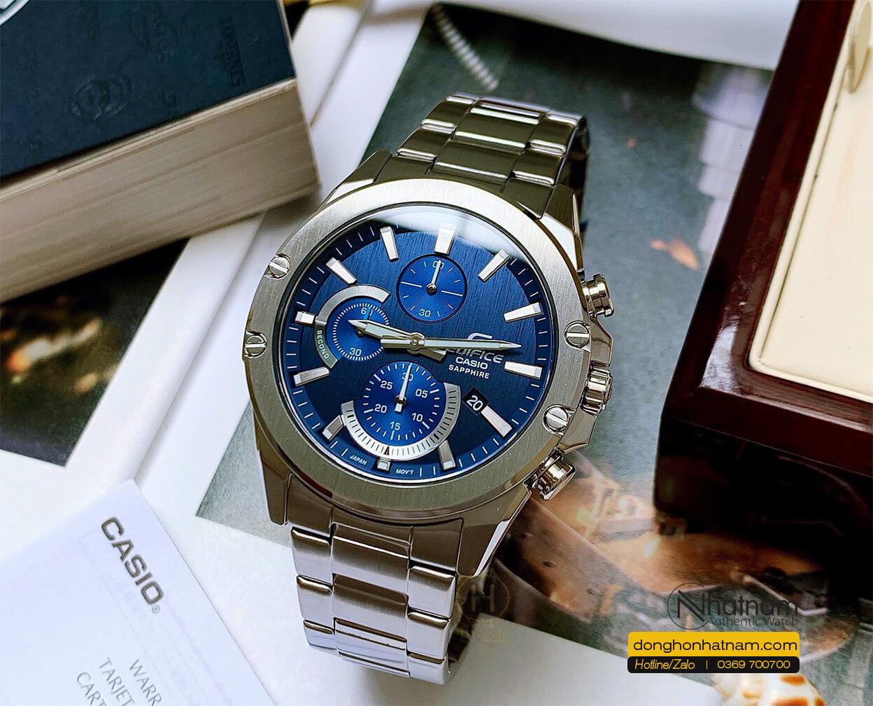 Casio Efr S567d 2avudf Blue Dial