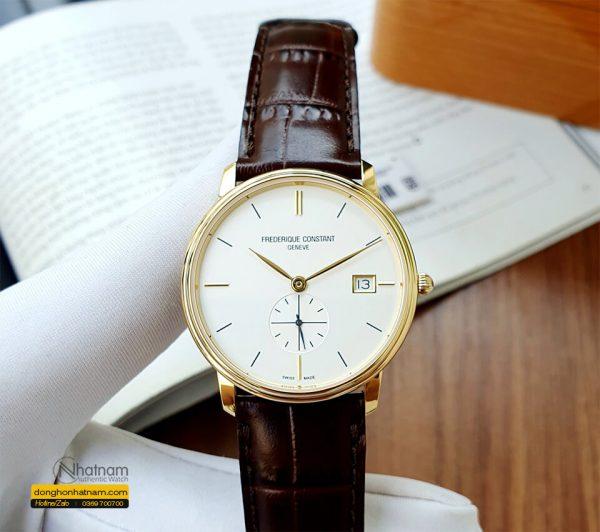 Frederique Constant Fc 245v4s5 White Dial
